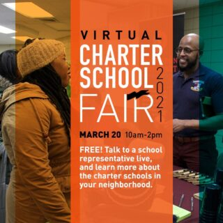 Join us this Saturday, March 20th for a virtual fair hosted by the Charter School Center! To register visit: NYCCHARTERSCHOOLS.ORG